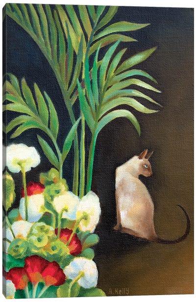 Siamese Cat Canvas Art Print