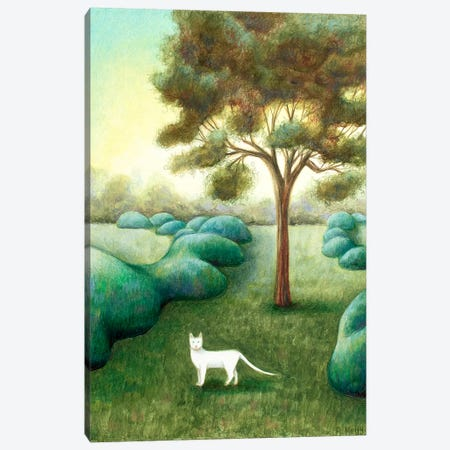 The Pathway Canvas Print #AKE24} by Antoinette Kelly Canvas Art