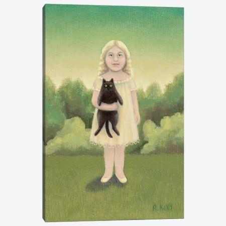 Augustus And Arabella. Canvas Print #AKE31} by Antoinette Kelly Canvas Art