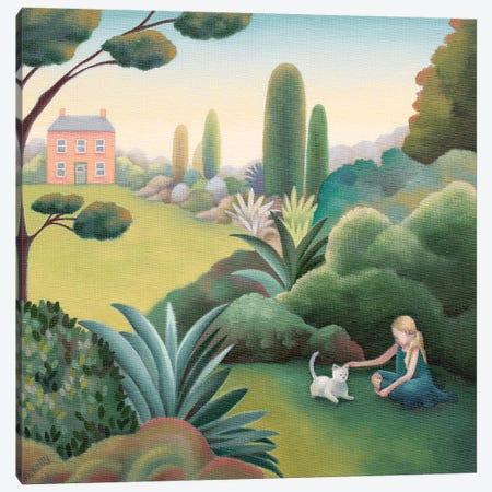 Sweet Little Kitty Canvas Print #AKE33} by Antoinette Kelly Canvas Wall Art