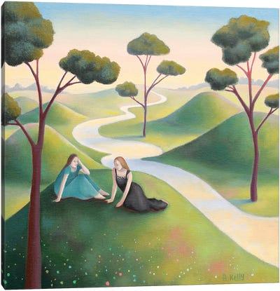 Two Friends Canvas Art Print