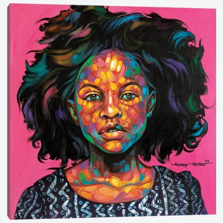 Omotoke Canvas Print #AKI12} by Akintayo Akintobi Canvas Wall Art