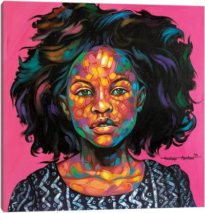 Omotoke Canvas Art Print