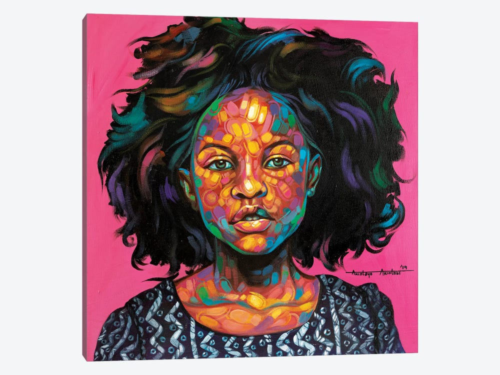 Omotoke 1-piece Canvas Art
