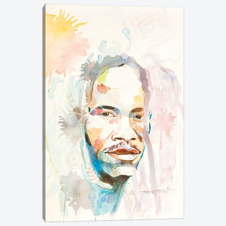 Untitled Canvas Print #AKI16} by Akintayo Akintobi Canvas Print