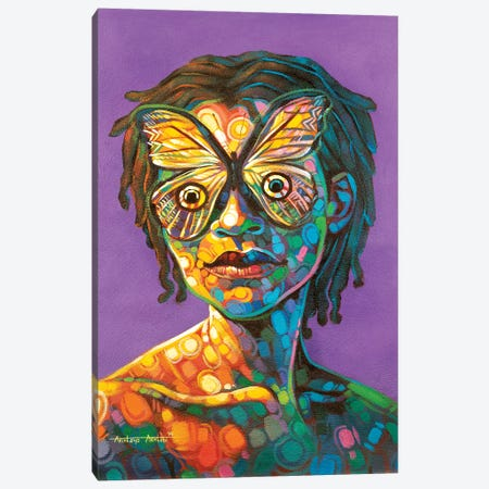 Untitled III Canvas Print #AKI17} by Akintayo Akintobi Canvas Print