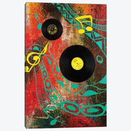 Vintage Canvas Print #AKI18} by Akintayo Akintobi Canvas Art
