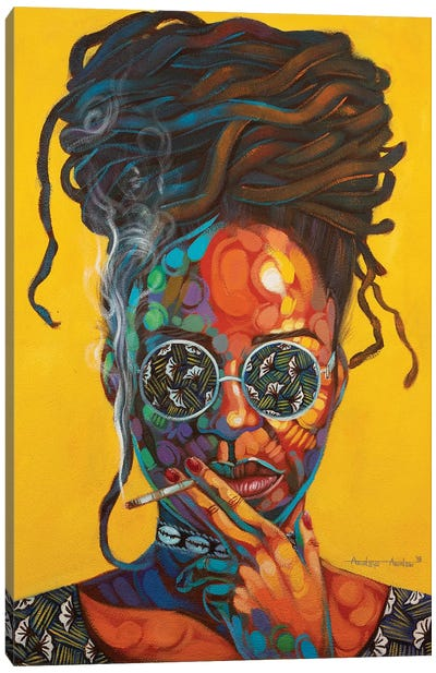 Woman Of Steel Canvas Art Print