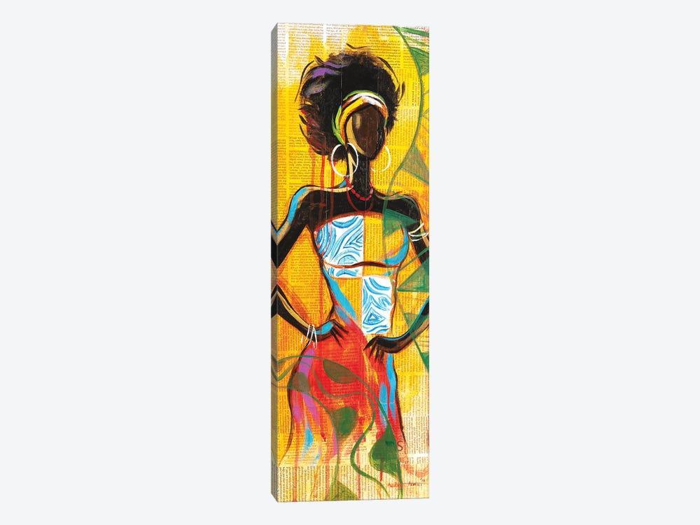 African Lady by Akintayo Akintobi 1-piece Canvas Wall Art