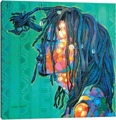 Between The Colors Canvas Art Print
