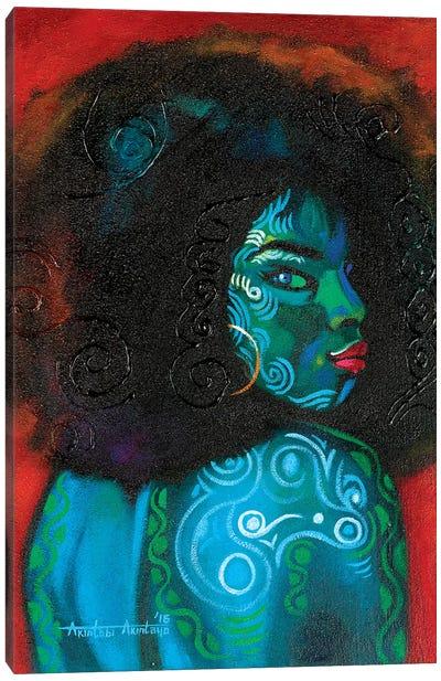 Black Beauty Canvas Art Print