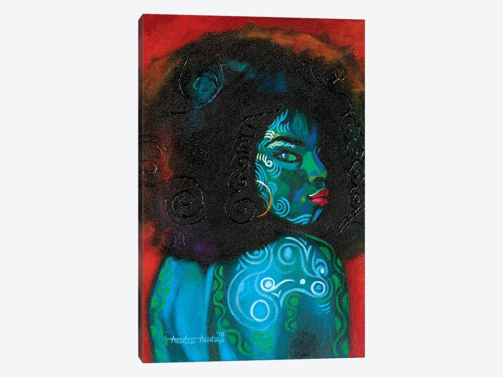 Black Beauty by Akintayo Akintobi 1-piece Canvas Print