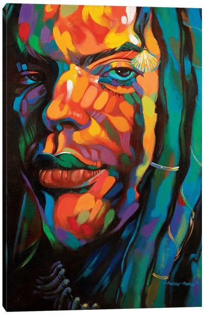Gaze Canvas Art Print