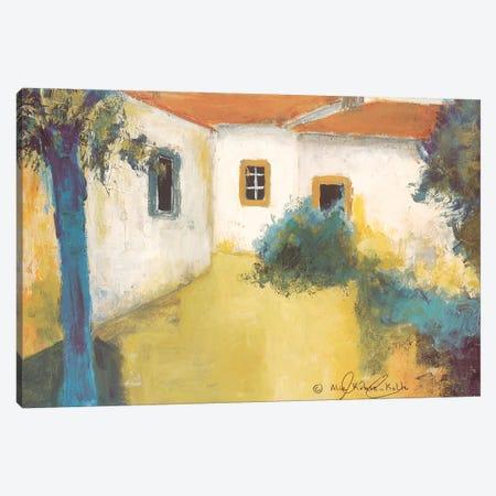 Patio I Canvas Print #AKK1} by Alie Kruse-Kolk Canvas Artwork