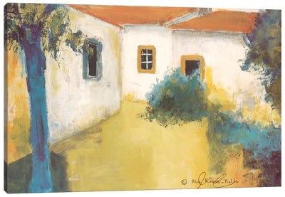 Patio I Canvas Art Print
