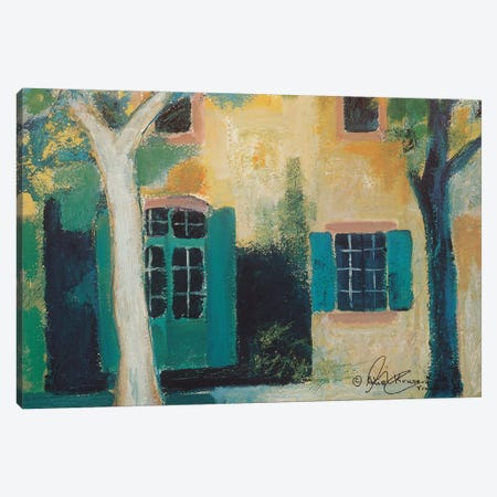 Piazza I Canvas Print #AKK3} by Alie Kruse-Kolk Canvas Wall Art