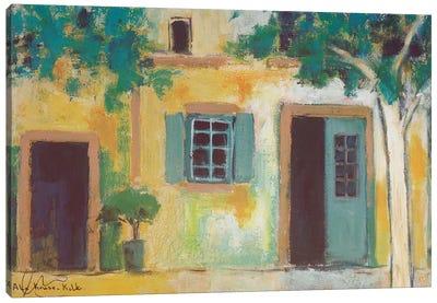 Piazza II Canvas Art Print