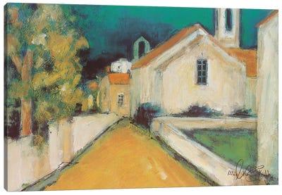 Piazza III Canvas Art Print