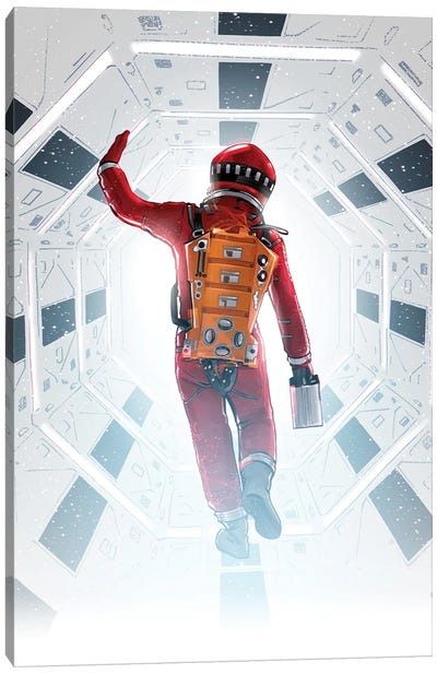 2001 Space Odyssey Canvas Art Print