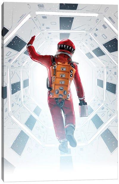 2001 Space Odyssey Canvas Art Print