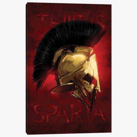 Sparta Canvas Print #AKM101} by Nikita Abakumov Art Print