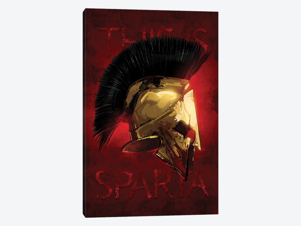 Sparta by Nikita Abakumov 1-piece Art Print