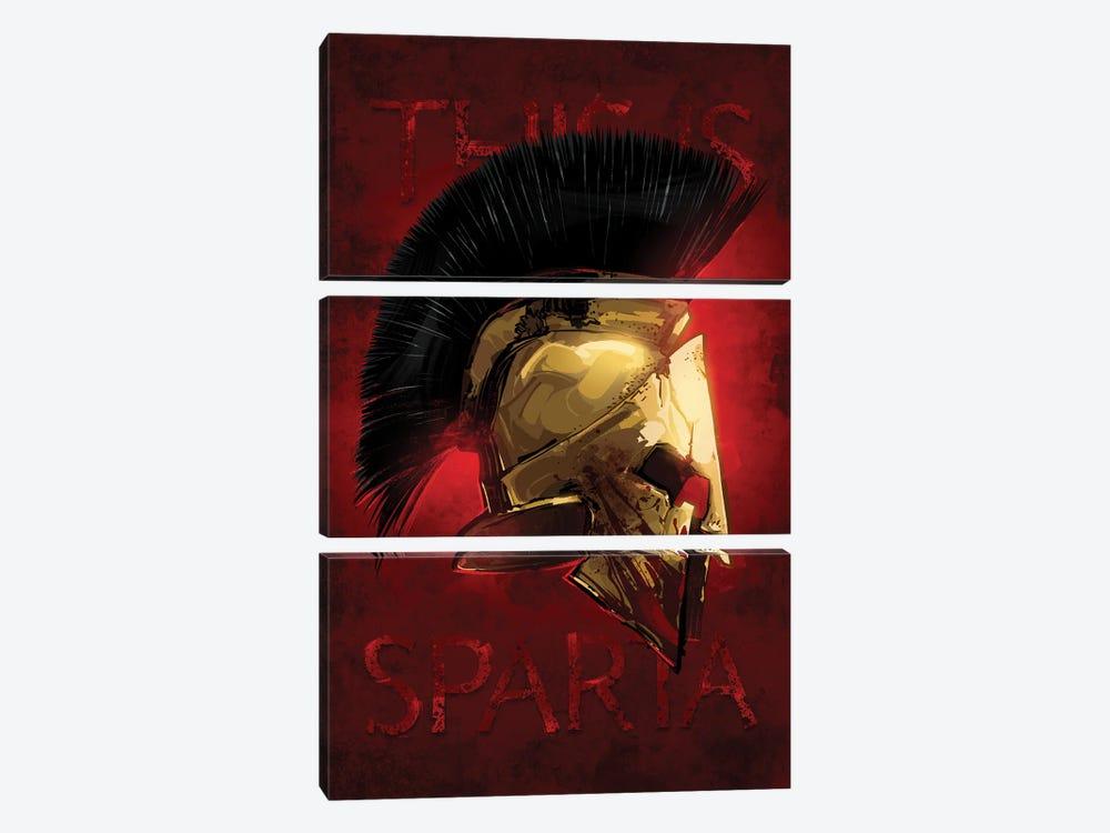 Sparta by Nikita Abakumov 3-piece Art Print