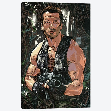 Commando Canvas Print #AKM104} by Nikita Abakumov Canvas Art