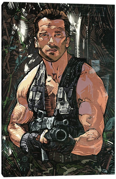 Commando Canvas Art Print