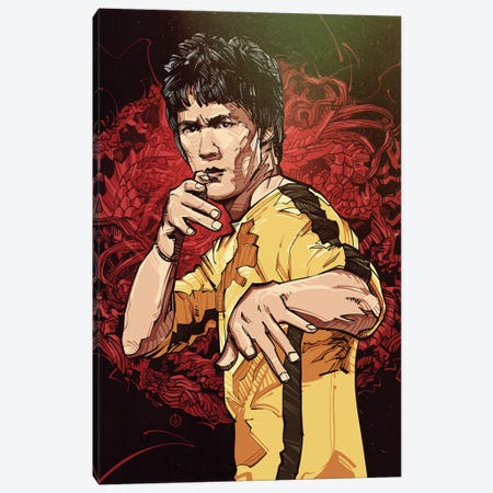 Enter The Dragon Canvas Print #AKM105} by Nikita Abakumov Canvas Wall Art
