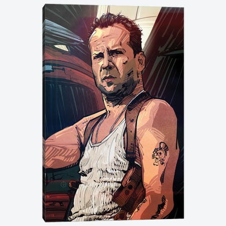 Die Hard Canvas Print #AKM106} by Nikita Abakumov Canvas Wall Art
