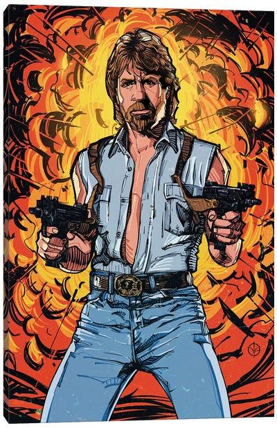 Chuck Norris Canvas Art Print