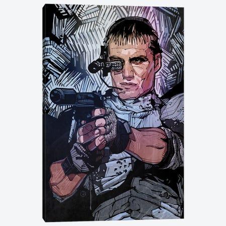 Universal Soldier Canvas Print #AKM108} by Nikita Abakumov Art Print
