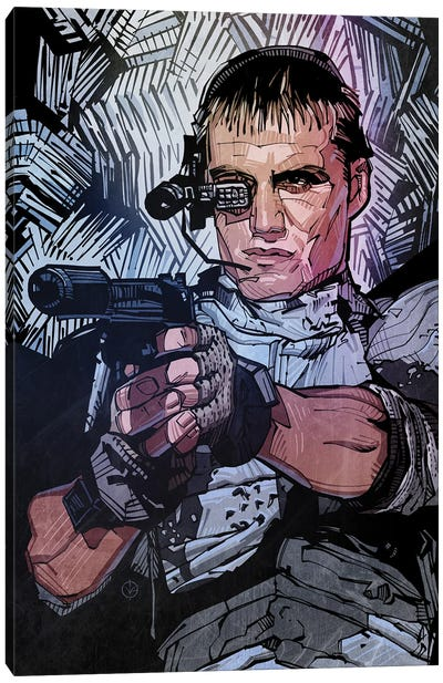 Universal Soldier Canvas Art Print