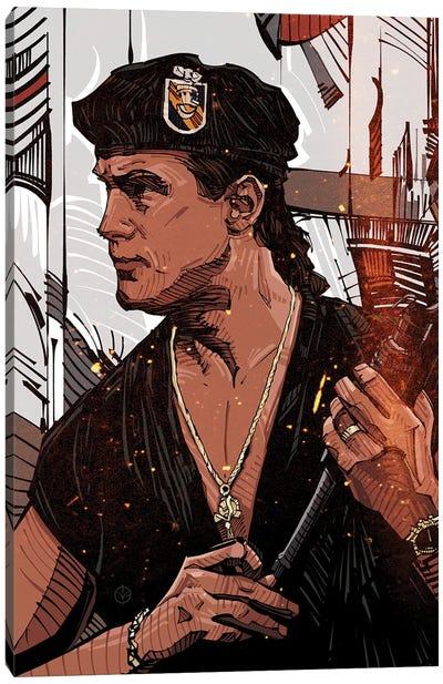 Steven Seagal Canvas Art Print