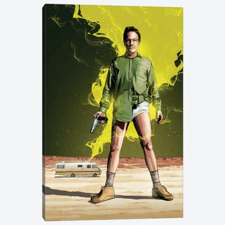 Breaking Bad I Canvas Print #AKM10} by Nikita Abakumov Canvas Wall Art