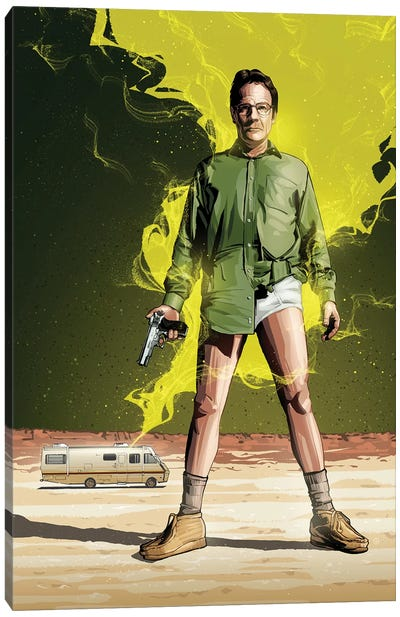 Breaking Bad I Canvas Art Print
