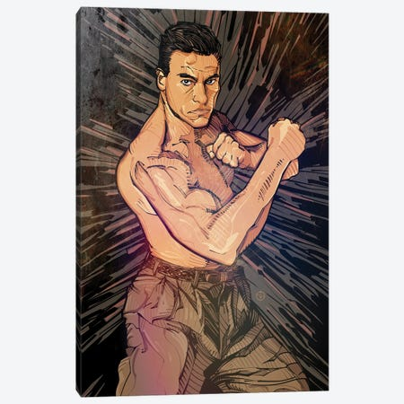 JCVD Canvas Print #AKM111} by Nikita Abakumov Canvas Art