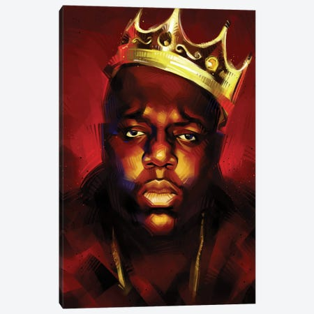 Biggie King Canvas Print #AKM113} by Nikita Abakumov Canvas Artwork
