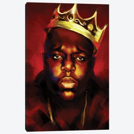 Biggie King Canvas Print #AKM113} by Nikita Abakumov Canvas Artwork