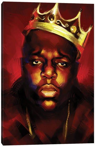 Biggie King Canvas Art Print