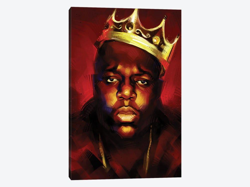 Biggie King by Nikita Abakumov 1-piece Canvas Art