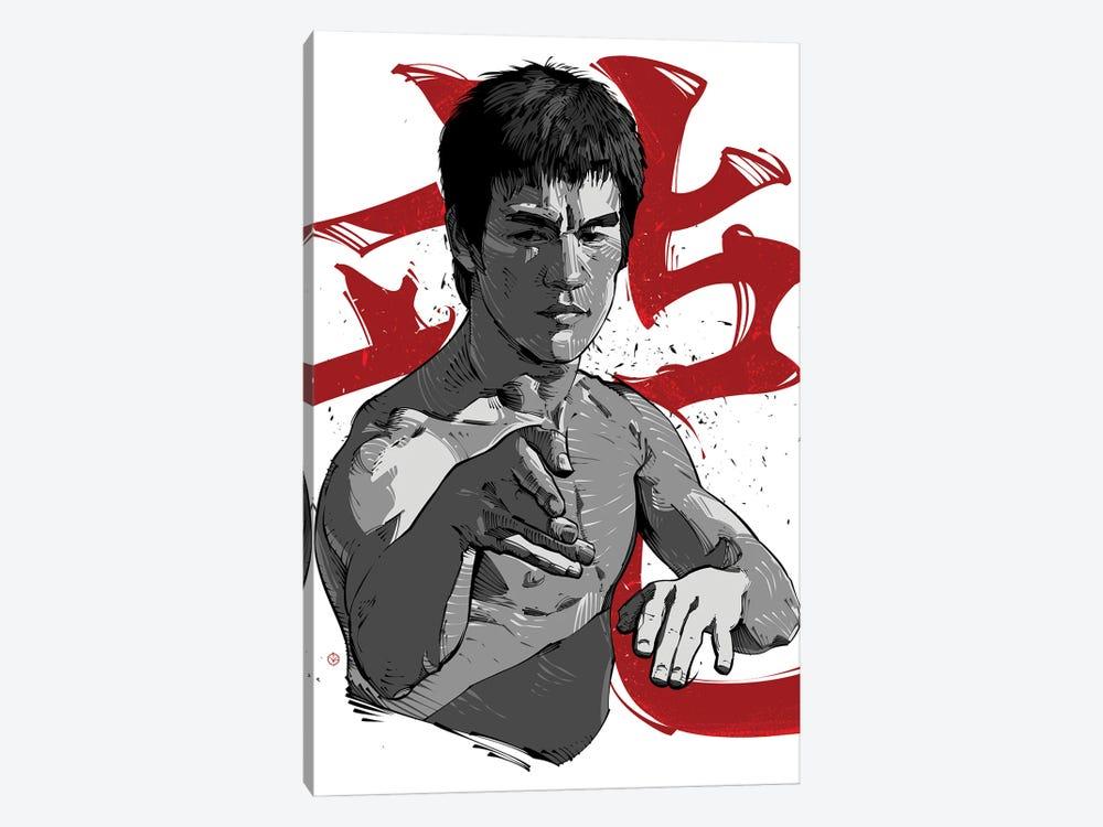 Bruce Lee Fight by Nikita Abakumov 1-piece Canvas Wall Art