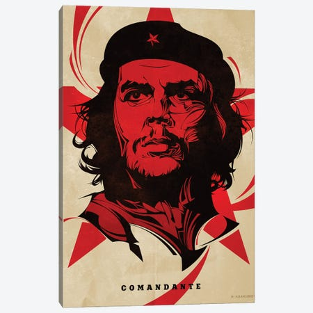 Che Canvas Print #AKM123} by Nikita Abakumov Canvas Art Print