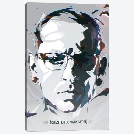 Chester Bennington II Canvas Print #AKM125} by Nikita Abakumov Canvas Artwork
