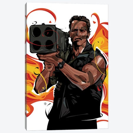Commando II Canvas Print #AKM130} by Nikita Abakumov Canvas Art