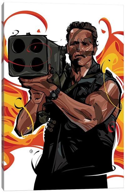 Commando II Canvas Art Print