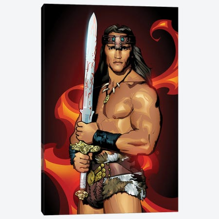 Conan Canvas Print #AKM131} by Nikita Abakumov Canvas Wall Art
