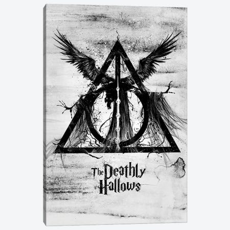 The Deathly Hallows Canvas Print #AKM135} by Nikita Abakumov Canvas Art Print