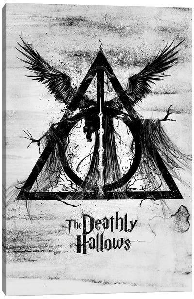 The Deathly Hallows Canvas Art Print